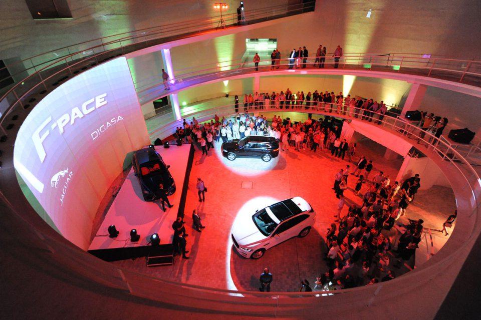 Proscenium - Presentación Jaguar F-Pace en Granada