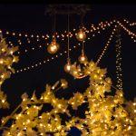 Iluminación de bodas y celebraciones